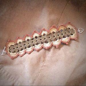 *HANDMADE TO ORDER* crochet lace bracelet